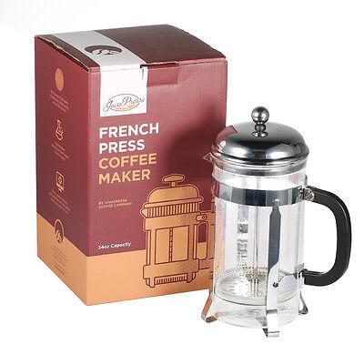 NEU 1L Kaffee Tee Kaffeekocher Kaffeebereiter Caffettiera French Press 8 Tassen