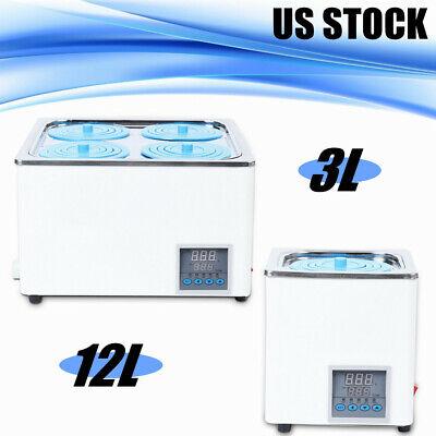 Digital Thermostatic Lab Water Bath Rt To 100c 3l12l Capacity 300w 110v60hz