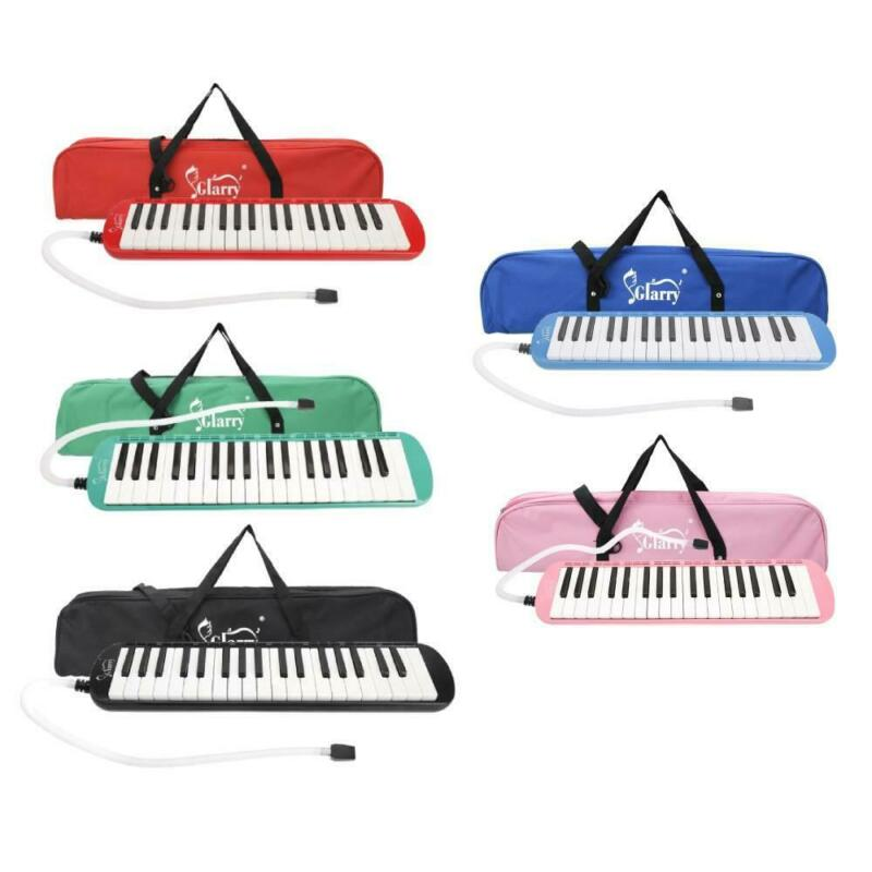 5 Color Portable 37 Key Melodica Student Class Harmonica with Bag Toy Gift