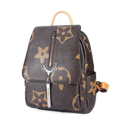 Women Anti-theft Backpack Fashion School Travel Shoulder Bag Tassel Handbags
