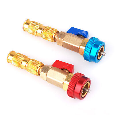 Brass AC R134A/R12 Valve Core High Low Pressure Quick Remover Installer Tool