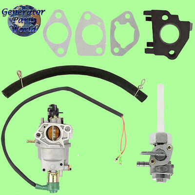 A-ipower Carburetor W Solenoid Petcock For Sua9000e 7250 9000 14hp Generator