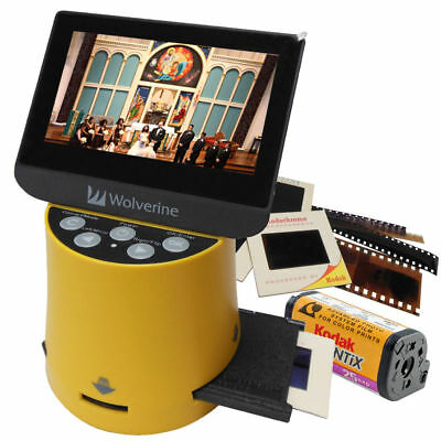 "Wolverine F2D Titan 20 Megapixel Film to Digital Converter  - 4.3"" Large Screen"