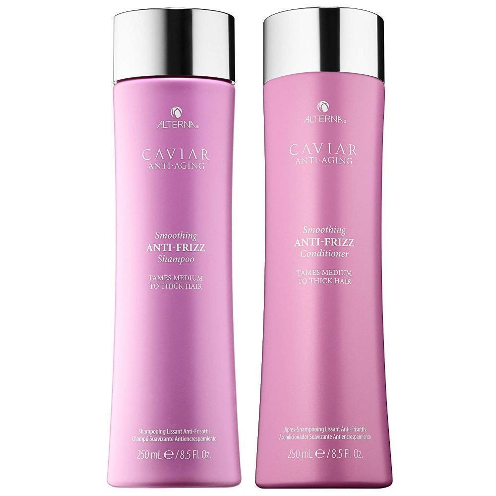 CAVIAR Anti-Aging Anti-Frizz Shampoo and Conditioner Set, 8.