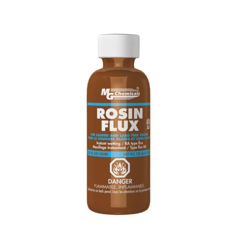 MG Chemicals 835-100ML Liquid Rosin Flux Non Corrosive Non Conductive NEW!!!