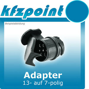 adapter minikurzadapter kurzadapter 13 auf 7 polig ebay. Black Bedroom Furniture Sets. Home Design Ideas