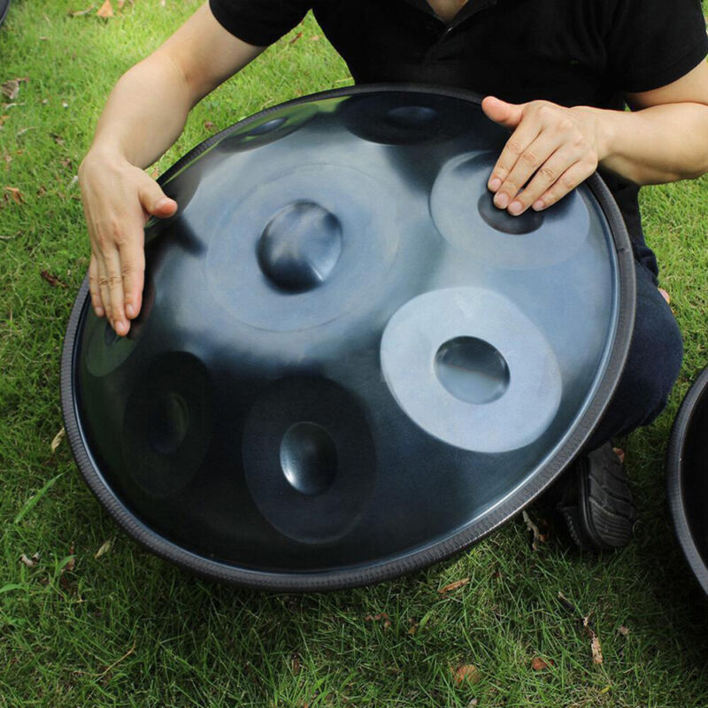 9 Notes Hand Pan Handpan Hand Drum Carbon Steel Material Percussion +Bag