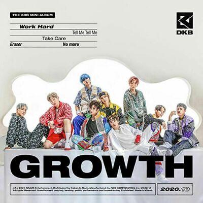 DKB - [GROWTH] 3rd Mini Album CD+Photobook+Photocard+Postcard+Sticker K-POP