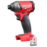 "Milwaukee 2753-20 M18 FUEL 18V Li-Ion Brushless 1/4"" Hex Cordless Impact Driver"
