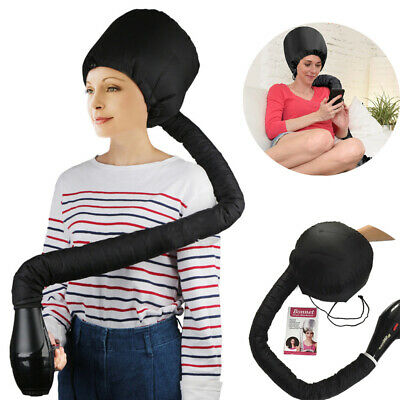 Portable Soft Hair Drying Salon Cap Bonnet Hood Hat Blow Dryer Attachment US