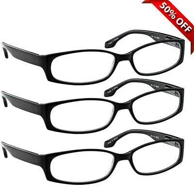 NEW Reading Glasses | Best Readers 3 Pack for Men and Women | 180 Day (Best Pack For Women)