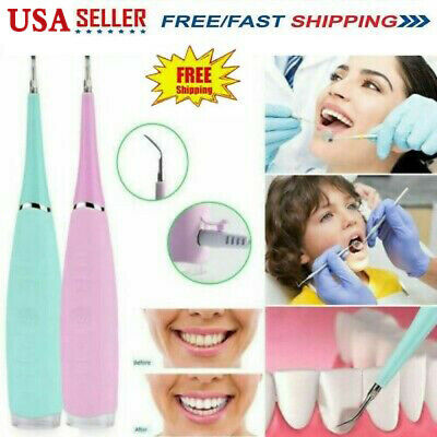 Cleanoral Ultrasonic Electric Tooth Cleaner Teeth Stain Remover Dental Cleaning