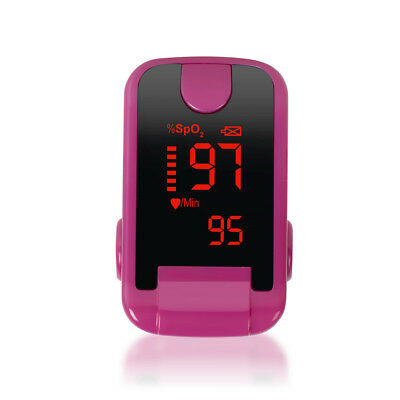 Best LED Finger Tip Pulse Oximeter SPO2 Heart Rate monitor blood oxygen