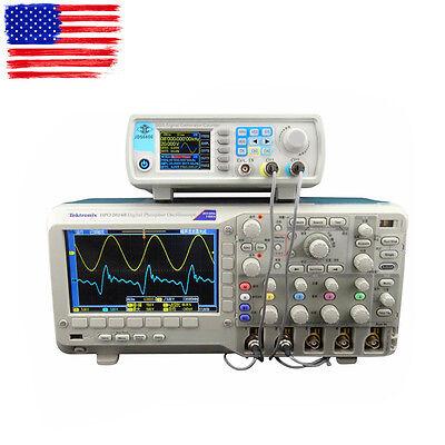JDS6600 Series 40MHZ Digital Control Dual-channel DDS Signal Generator USA Ship!