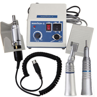 Dental Pulidora eléctrico Micromotor Marathon Lavadora N3 35K RPM Pieza de pulid