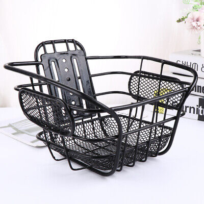 Bicycle Grocery Basket Bike Front Rear Storage Shopping Carrier Cycling Holder