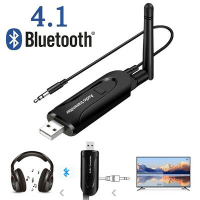 Wireless Bluetooth Transmitter USB A2DP Musik Audio Sender Adapter für PC TV DVD