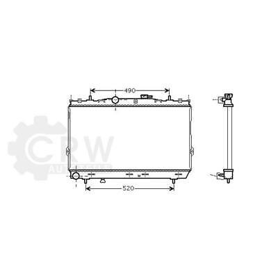 Refrigeración Del Motor Radiador Hyundai Elantra Xd Coupé comprar usado  Enviando para Brazil