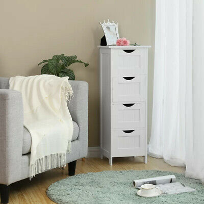 4 Chest of Drawers Bedroom Dressers Storage Organizer Bathroom Furniture