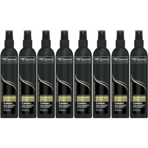 8 Pack TRESemme Tres Two Hair Spray Non-Aerosol Extra Firm H