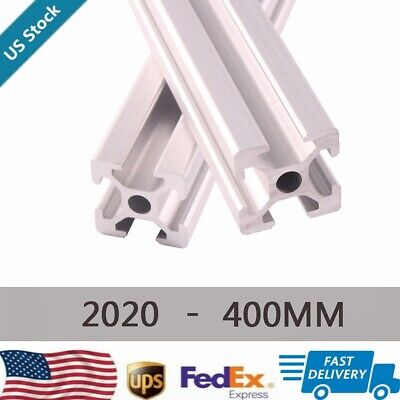 2pcs 2020 T-slot Aluminum Extrusion Profile 400mm Cnc 3d Printer 20mm X 20mm