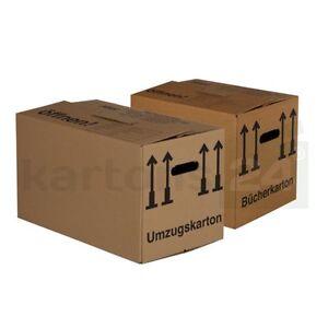 50 cartons de d m nagement 10 bo tes livre paquet spar boites caisses ebay. Black Bedroom Furniture Sets. Home Design Ideas