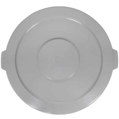 Continental Huskee 2001GY Flat Round Lid, For Use With Huskee 2000 Container, Continental Round Huskee Container