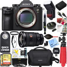 Sony Alpha a9 Mirrorless Digital Camera + FE 16-35mm Wide-Angle Zoom Lens Bundle