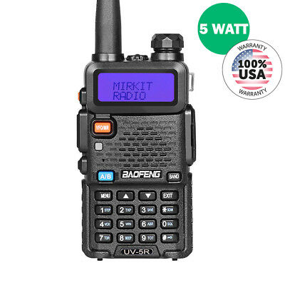 (BaoFeng UV-5R MK2 2018 Handheld Dual Band Two Way (Ham) Radio, Mirkit Edition)