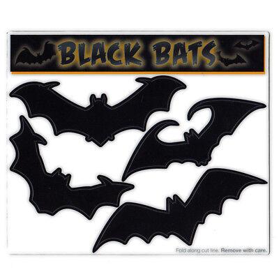 Magnet Variety Pack (4 Magnets) - Large Black Bats (Halloween) Refrigerator, Car](Halloween Refrigerator)
