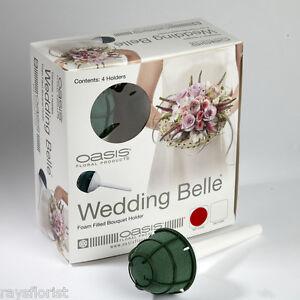 Wedding-Belle-Bridal-or-Bridesmaids-Bouquet-Holders-Choose-Quantity-Foam-Type