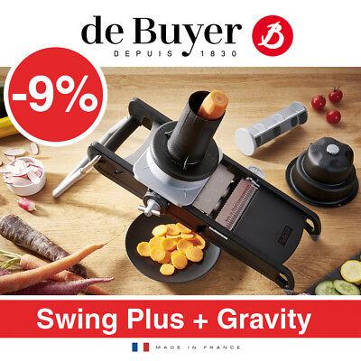 de Buyer - La Mandoline Swing Plus + Gravity De Buyer Mandoline