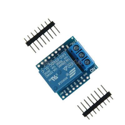 1ch Relay Shield V2 Version 2 For Wemos D1 Mini Esp8266 Wifi Module Arduino New