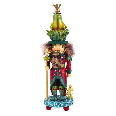 "[Kurt Adler Hollywood Nutcracker - Frog Prince Christmas Nutcracker 16.5"" HA0537 </Title]"