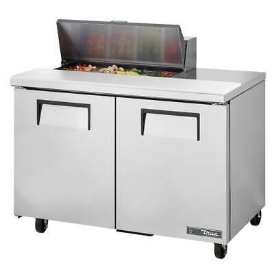 True Tssu-48-08-hc 48 Sandwichsalad Prep Table Refrigerated Base 115v