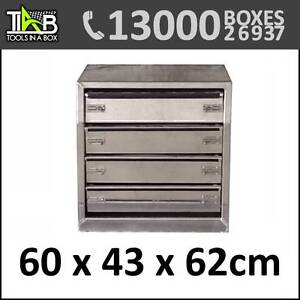 Aluminium Drawer Insert For Toolbox with 4 Drawers Brisbane City Brisbane North West Preview