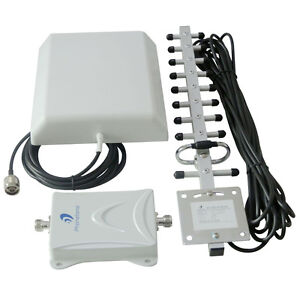 Family 2100mhz 70dB Mobile Signal Booster Repeater Kit 3G LTE  Optus/Telstra
