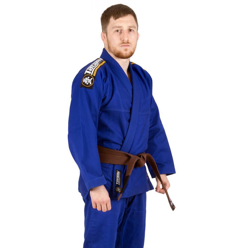 Tatami Nova Absolut Bjj Gi Blau Jiu Jitsu Kimono Uniform Gratis Weißer Gürtel