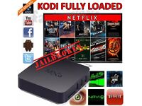 NEW Fully Loaded 4K KODI MOBDRO Android TV Box FREE Movies UK Sports Football LATEST VERSION No Subs