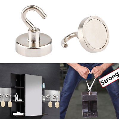 Strong Permanent Magnetic Circular Hook Powerful Hanger Home Kitchen Wall Hold