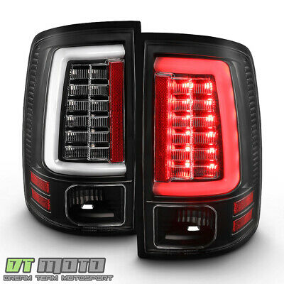 2009-2018 Dodge Ram 1500 2500 3500 [Black Edition] LED Tube Tail Lights Lamps