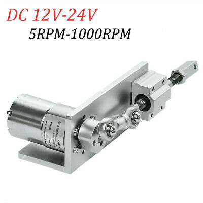 Electric Small Diy Design Reciprocating Cycle Linear Actuator With Dc Gear Motor