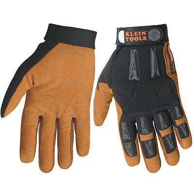 Klein Tools 40067 Journeyman Leather  Work Gloves Medium