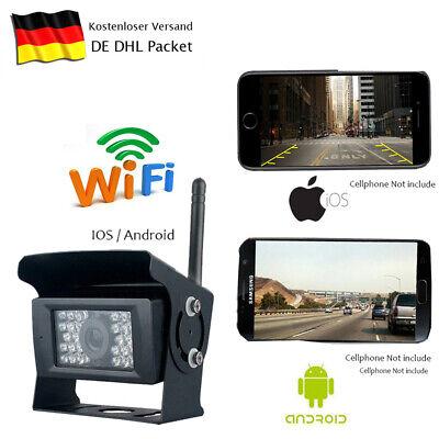 WIFI WLAN kabellos Funk Rückfahrkamera für IOS Iphone Android Smartphone APP Wlan Kamera Iphone
