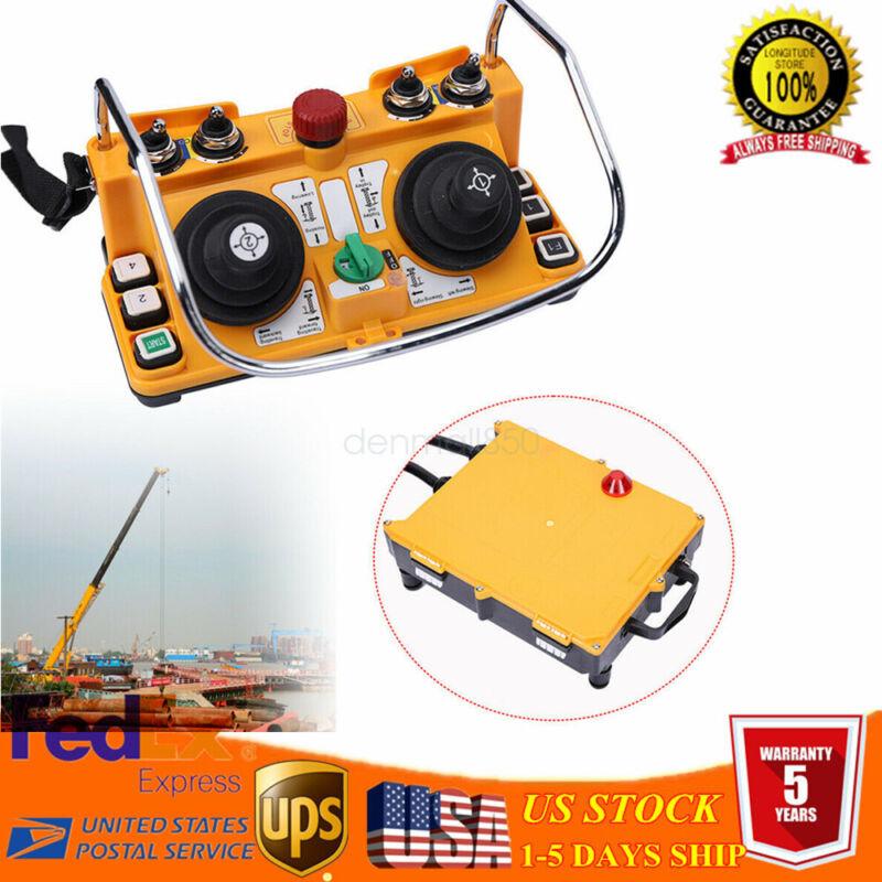 Remote Control Wireless Industrial Joystick Crane Transmitter Receiver 100m
