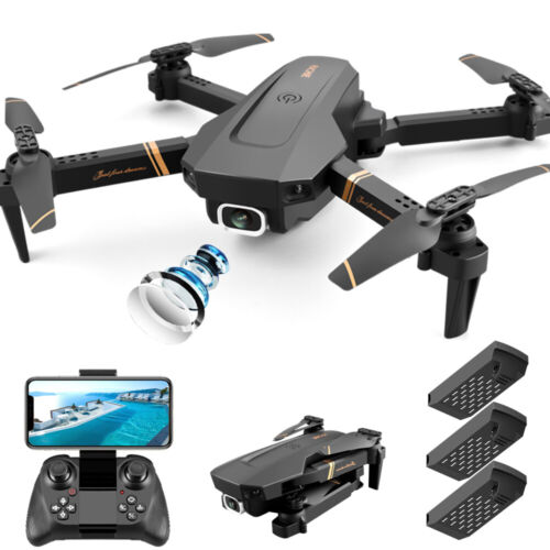 2020 NEW Rc Drone 4k HD Wide Angle Camera 1080P WiFi fpv Drone Dual Camera - ope