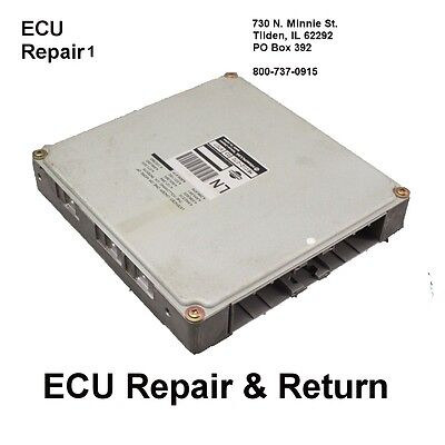 2000 Nissan Maxima Ecu - Nissan Maxima Ecm Ecu Engine Computer Repair Return Fast Turnaround Time - 2000 Nissan Maxima Ecu