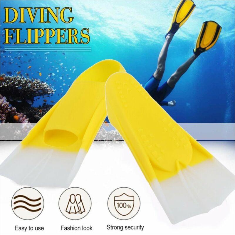 Comfort Swimming Snorkeling Training Short Blade Fins Diving Swim Flippers