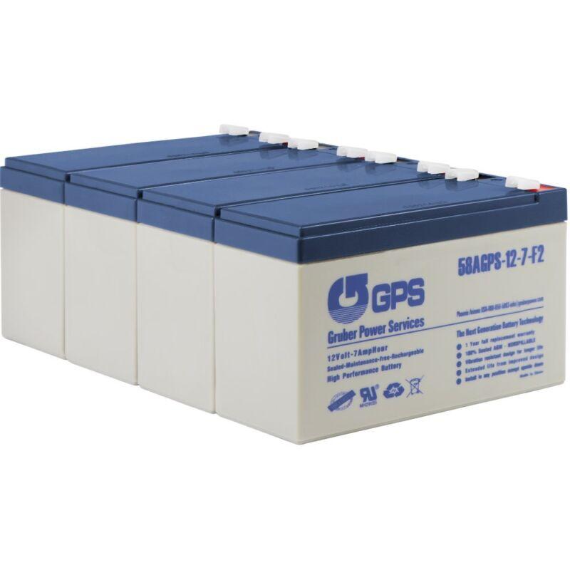 Battery Pack 4 APC SmartUPS RBC8 RBC23 RBC24 RBC25 RBC31 RBC57  SU1400RMXL3U
