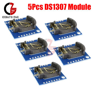 5pcs I2c Rtc Ds1307 At24c32 Real Time Clock Module Fit For Arduino Avr Arm Pic